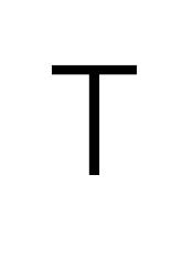 letterT